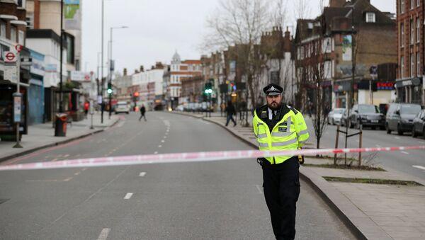 Policier à Londres - Sputnik France