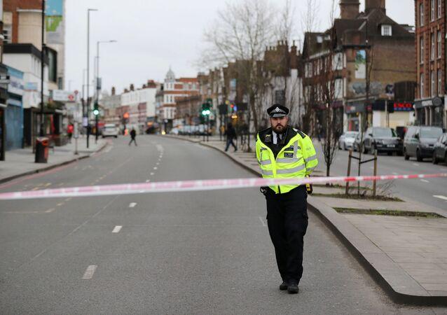 Policier à Londres