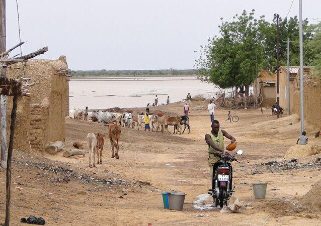 Street Scene - Dori - Sahel Region - Burkina Faso