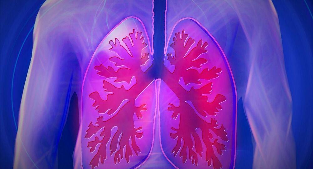 Les dégâts de la maladie sur des poumons représentés en vidéo — Coronavirus
