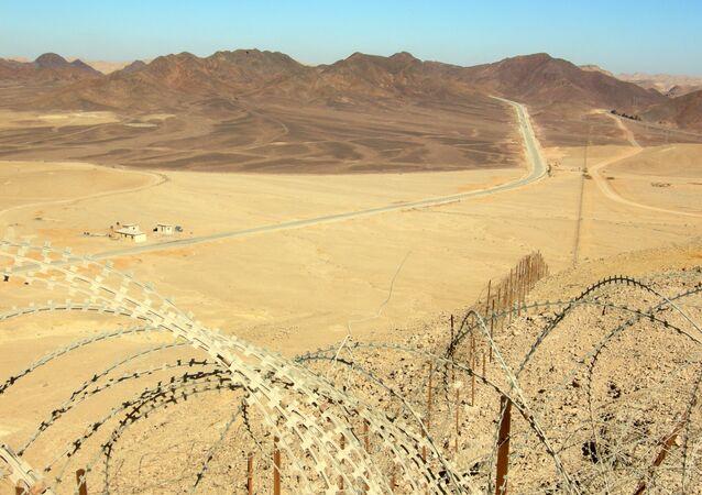 La frontière israélo-égyptienne