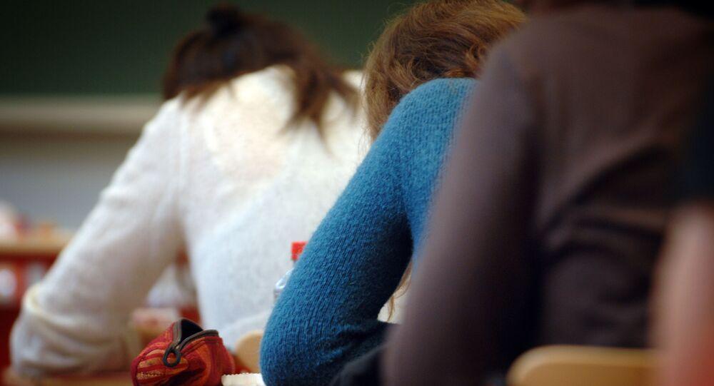 lycéens français (image d'archives)