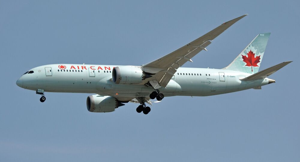 Un Boeing 787 d'Air Canada