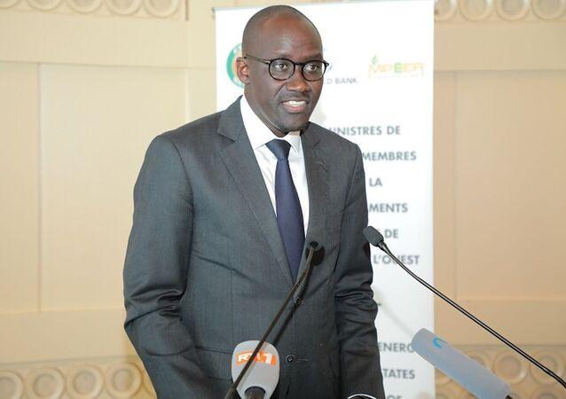 Le ministre ivoirien du Pétrole, de l'Énergie et des Énergies renouvelables Abdourahmane Cissé.