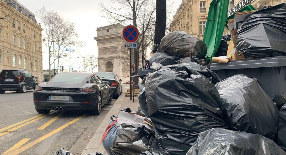 Grève des éboueurs 2020 - paris