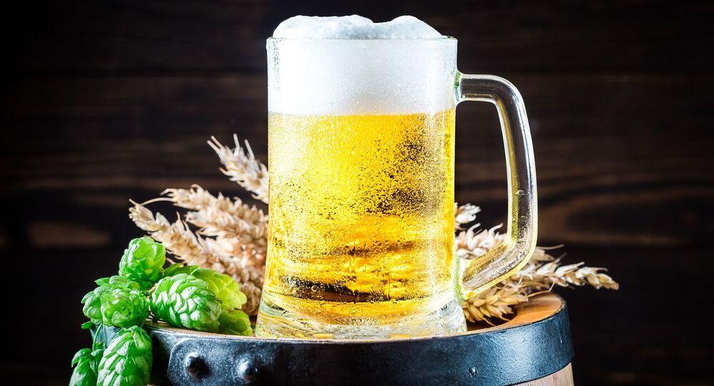 Une chope de bière