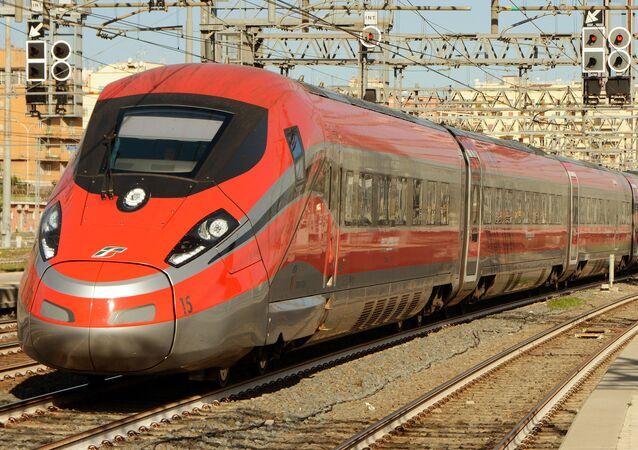 Un train Frecciarossa 1000, image d'illustration