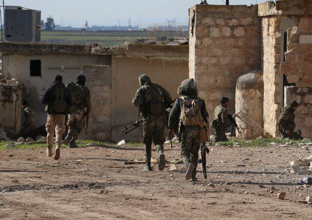 L'armée syrienne dans le gouvernorat d'Alep, photo d'illustration