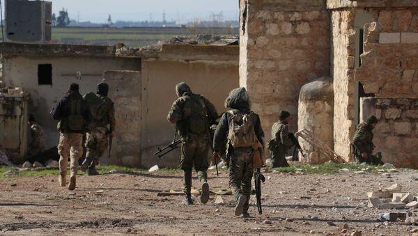الجيش السوري في ريف حلب الجنوبي - Sputnik France