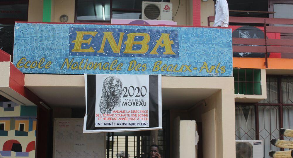 L'École nationale des beaux-arts d'Abidjan.