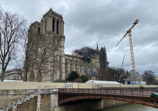 Notre-Dame de Paris, février 2020