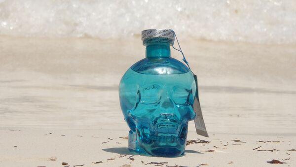 After Lyfe, la première vodka algérienne, avec son flacon en forme de skull. - Sputnik France