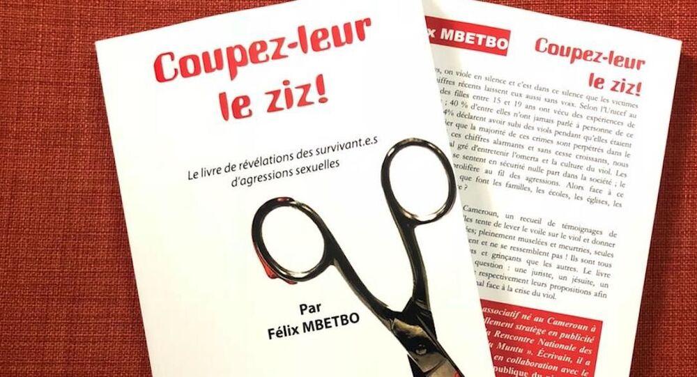 L'ouvrage de Félix Mbetbo, qui dénonce la culture du viol au Cameroun.
