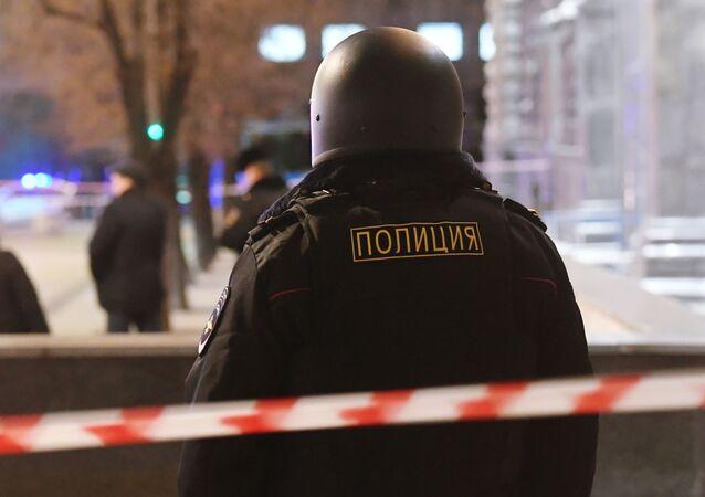 Un policier russe