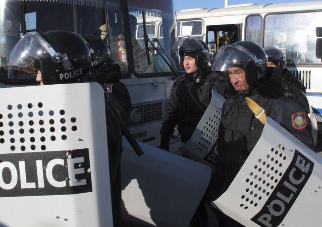 police kazakhe