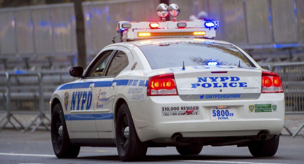 Une voiture de la police new-yorkaise