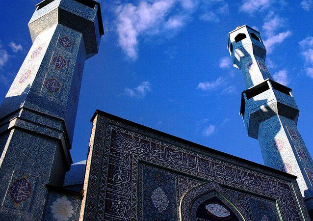 Mosquée à Oslo. Image d'illustration
