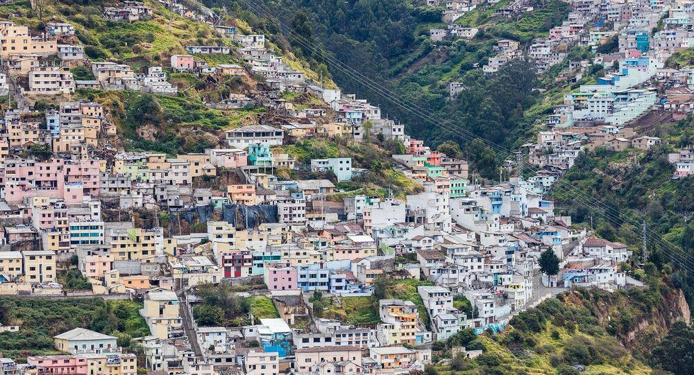 Quito, capitale de l'Équateur (archive photo)