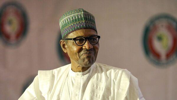 Le Président du Nigeria, Muhammadu Buhari. - Sputnik France