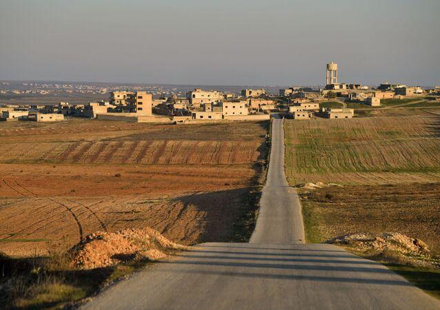 Situation dans une localité dans le sud-ouest du gouvernorat d'Idlib