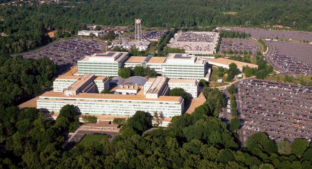 Vue du QG de la CIA à Langley, en Virginie