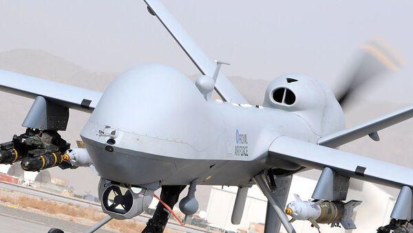 UK Reaper Drone MQ9. Image d'illustration - Sputnik France