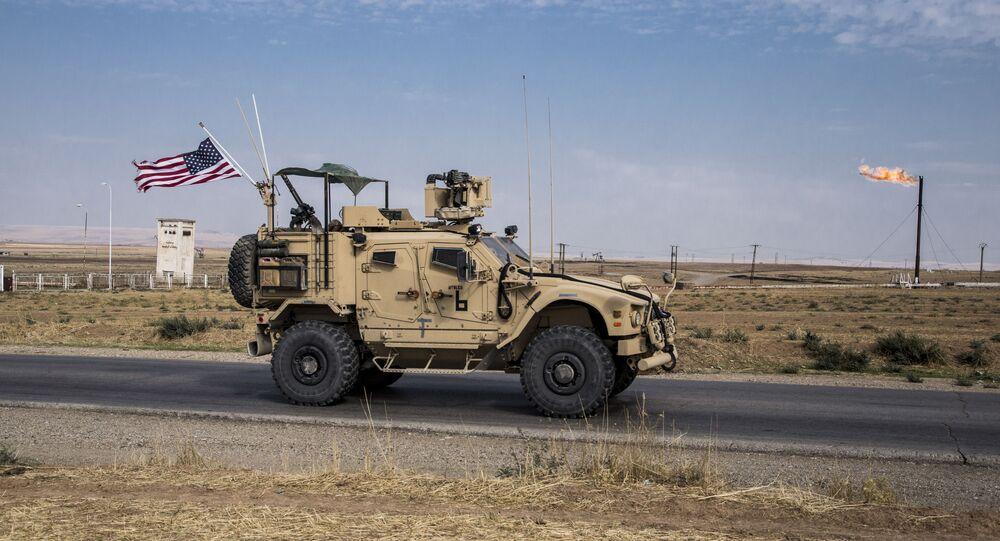 Une patrouille américaine en Syrie