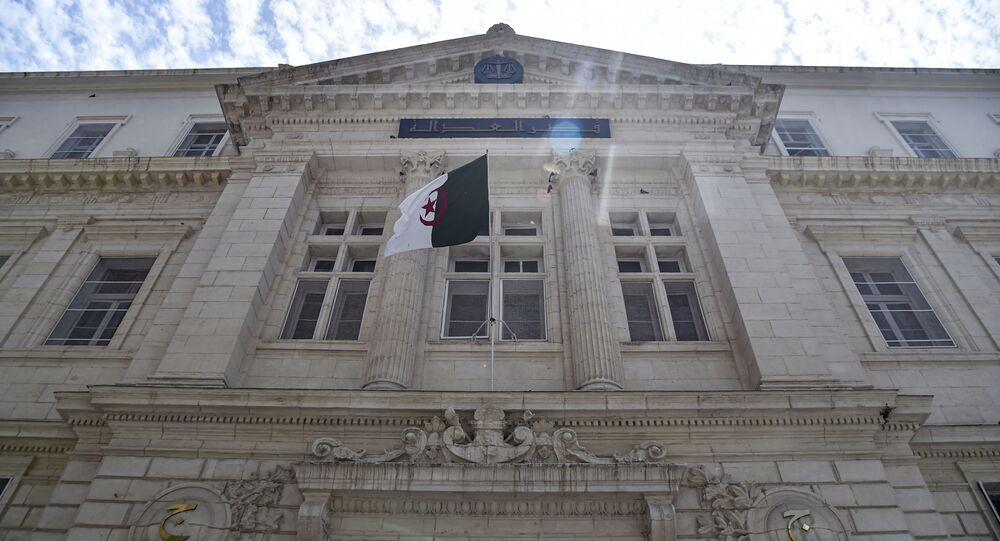 Le tribunal de Sidi M'hamed, principale juridiction de la capitale algérienne.