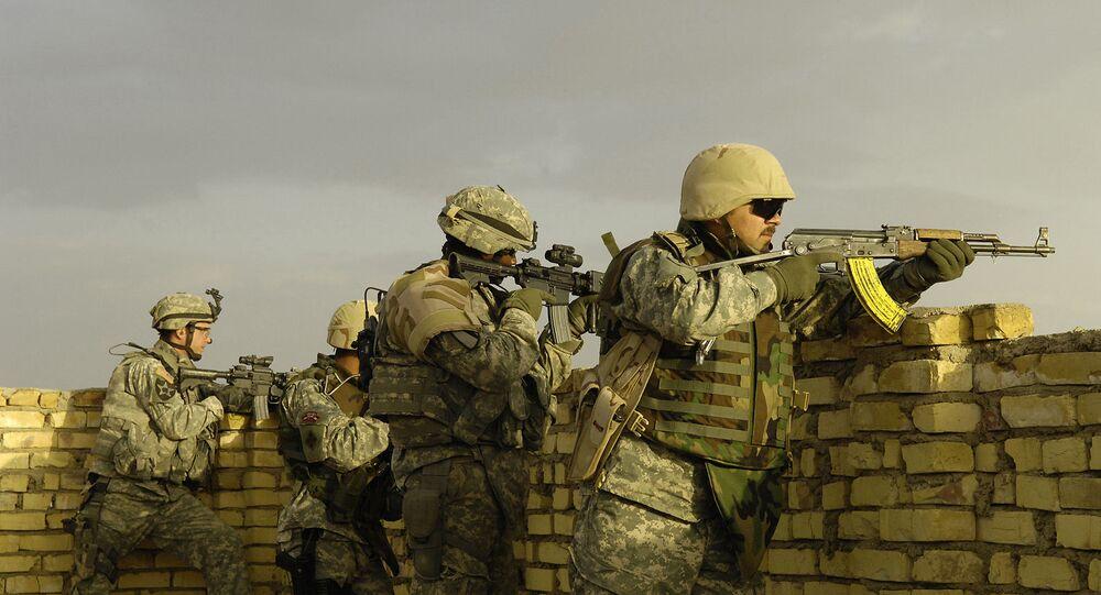 Des soldats américains en Irak (photo d'archive)
