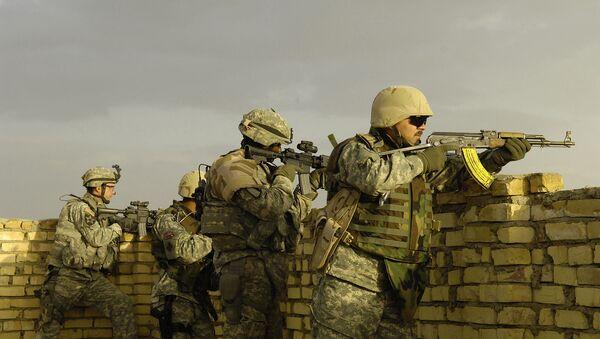 Des soldats américains en Irak (photo d'archive) - Sputnik France