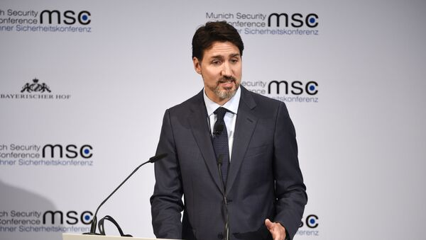 Justin Trudeau - Sputnik France