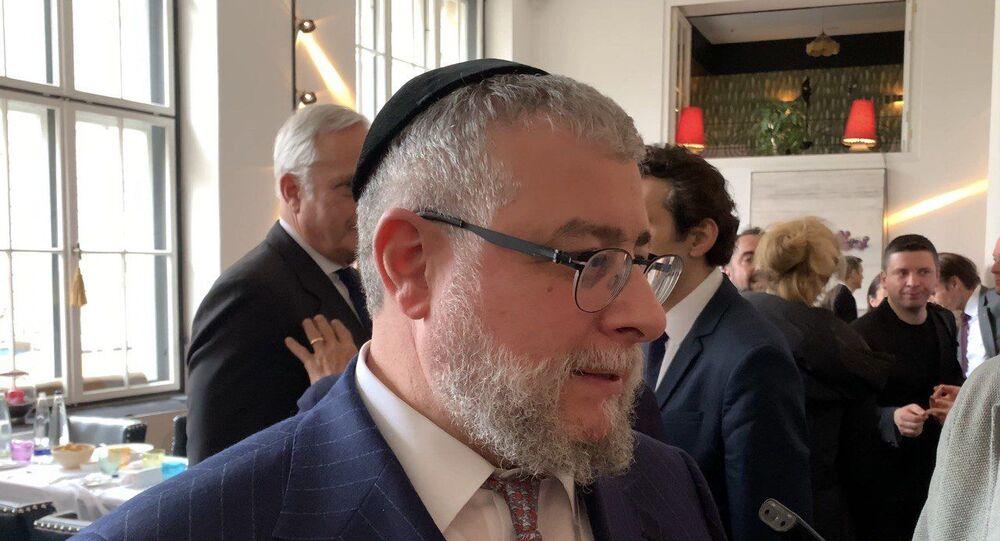 Pinchas Goldschmidt, président de la Conférence des rabbins européens