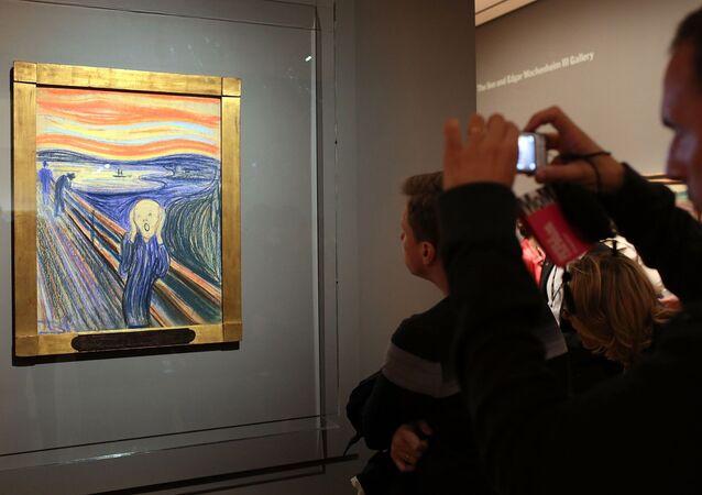 Le tableau Le Cri d'Edward Munch
