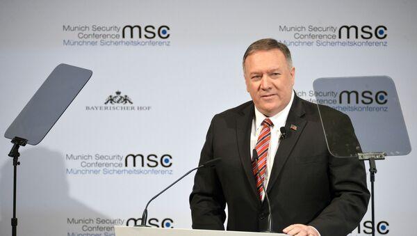 Mike Pompeo à la Conférence de Munich sur la sécurité - Sputnik France