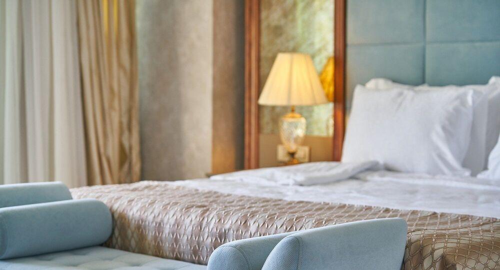 Chambre d'hôtel (image d'illustration)