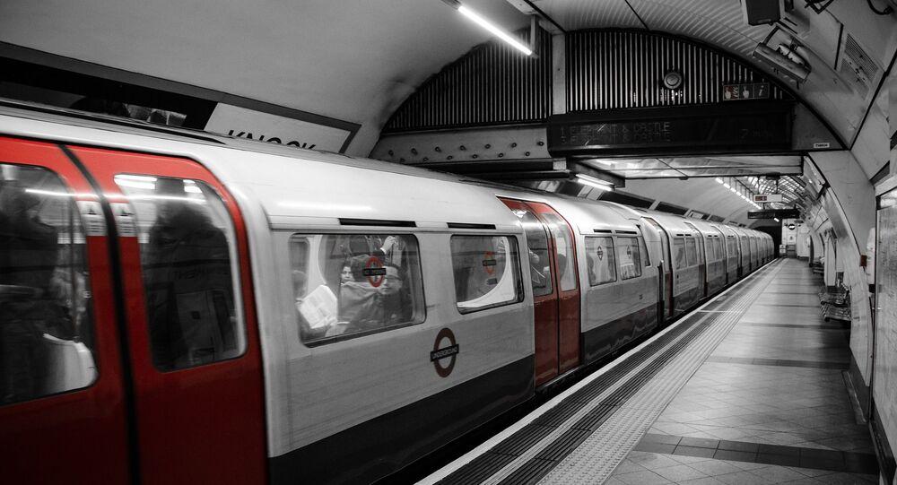 Métro à Londres (image d'illustration)