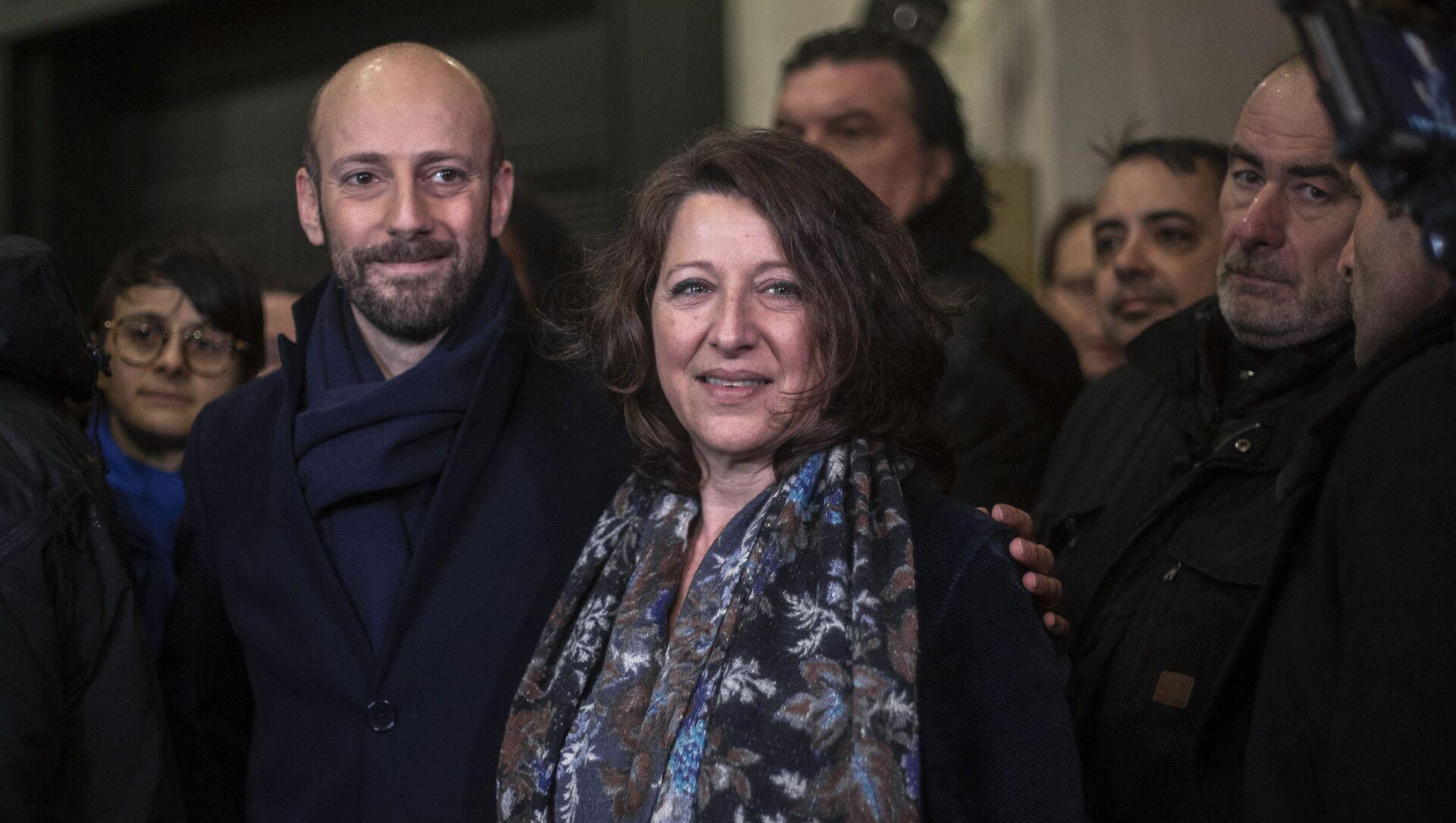 Agnès Buzyn et Stanislas Guerini, le 16 février 2020 - Sputnik France, 1920, 09.09.2021