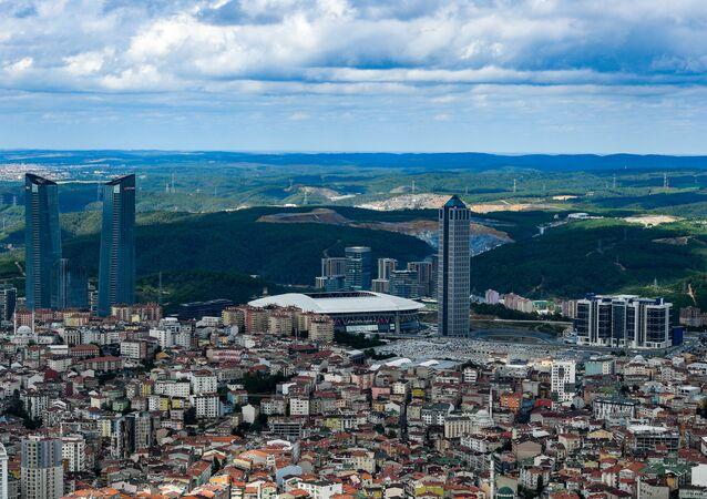 La ville d'Istanbul, en Turquie
