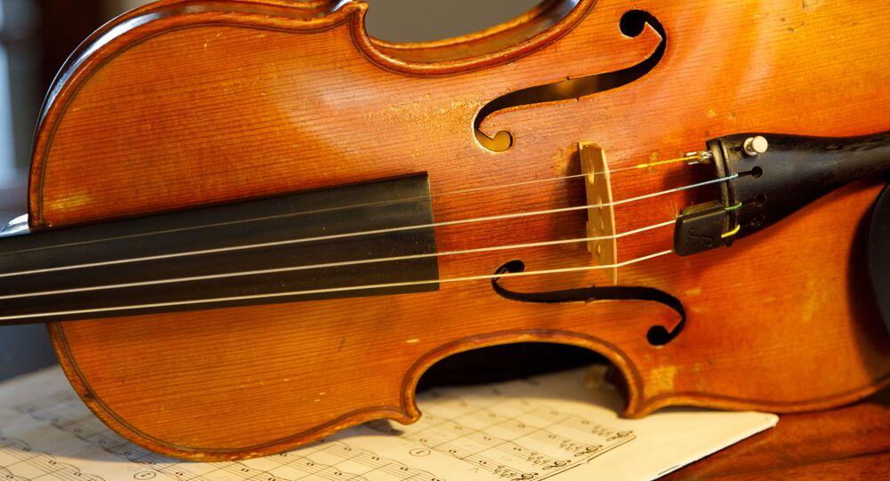 Un violon (image d'illustration)