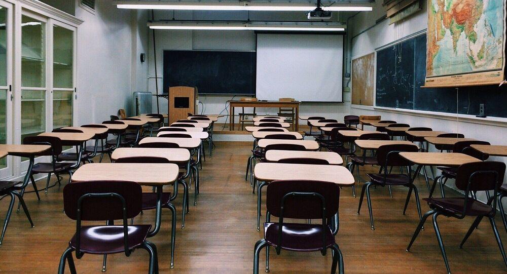 Une classe (image d'illustration)