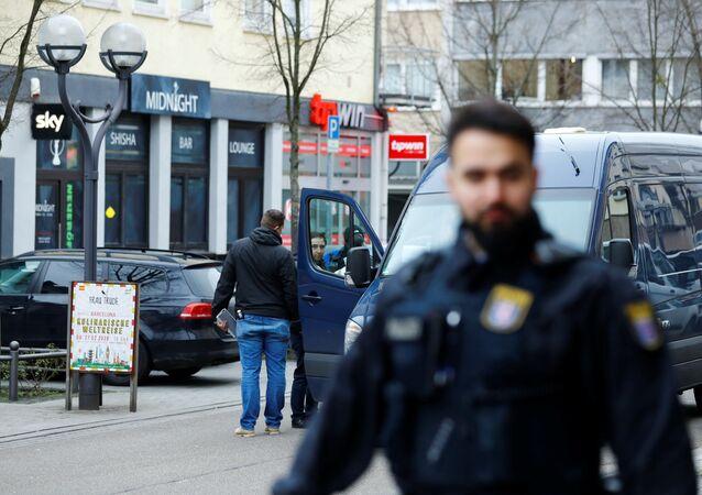 Attaques contre des bars de chichas de Hanau, le 20 février