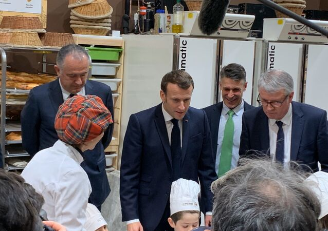 Emmanuel Macron au Salon International de l'Agriculture 2020
