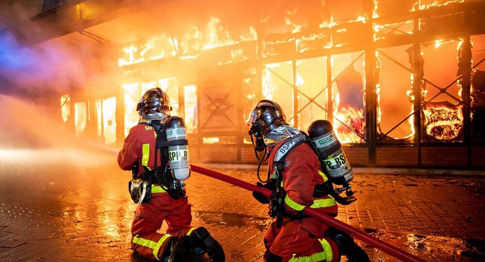 Pompiers en France