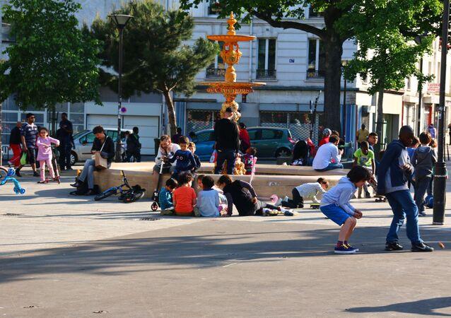 Place de la Réunion, Paris
