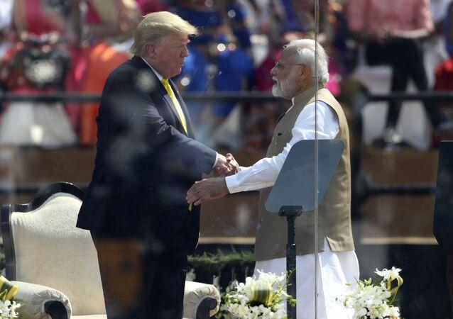 Donald Trump et Narendra Modi