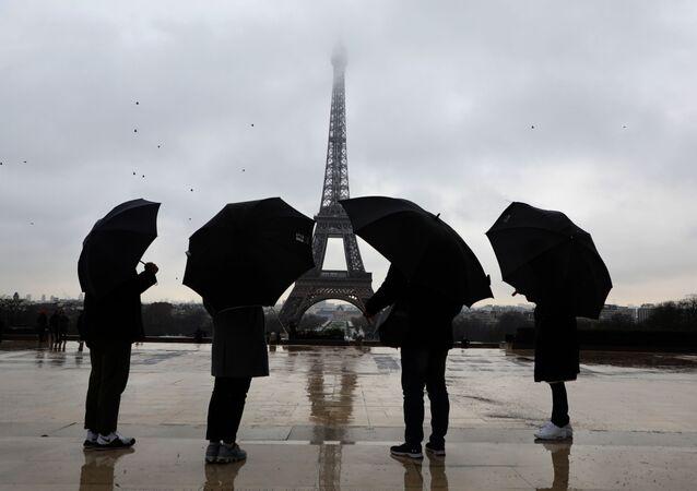 Touristes à Paris