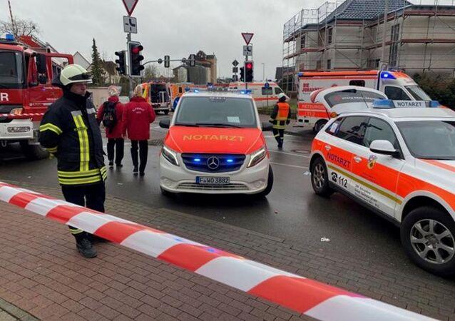 Un véhicule fonce dans la foule lors d'un carnaval dans la ville allemande de Volkmarsen