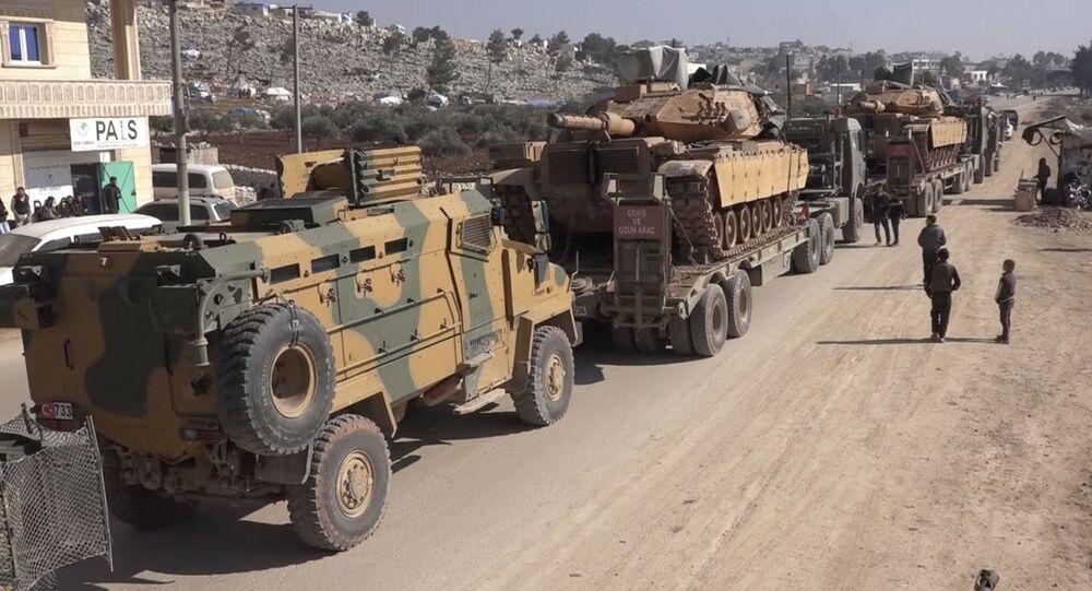 Militaires turcs dans la région d'Idlib