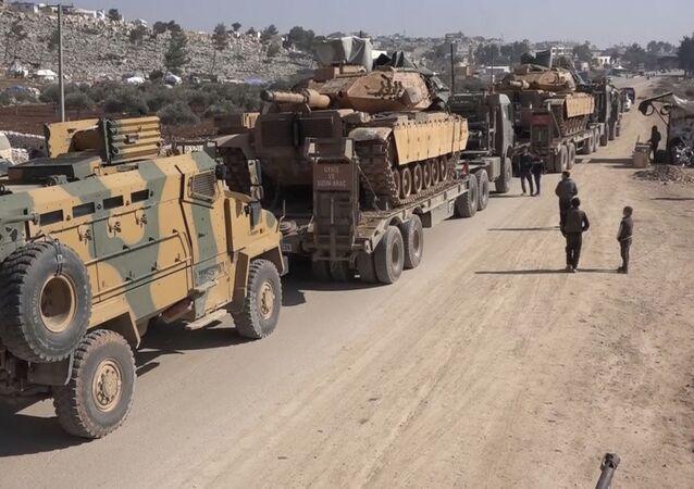 des militaires turcs dans le gouvernorat d'Idlib, le 2 février 2020 (image d'archive)