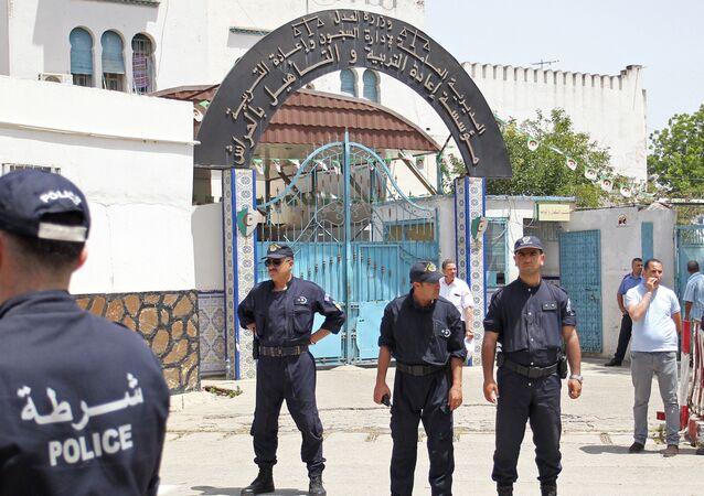 La prison d'El-Harrach où est détenu Fodil Boumala depuis le mois de septembre 2019.